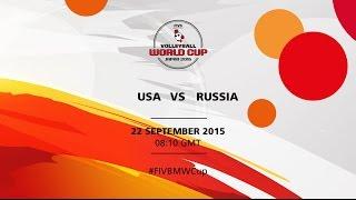 getlinkyoutube.com-USA v Russia - FIVB Volleyballl Men's World Cup Japan 2015