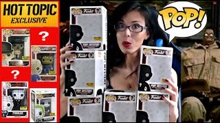 Funko Pop  Unboxing Hottopic Mystery Exclusive HORROR 2016 ( Clockwork Orange chase ...?)