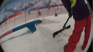 getlinkyoutube.com-How to build snow kickers onto rails for Snowboard or Ski