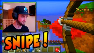 "getlinkyoutube.com-Minecraft SKYWARS - ""SNIPE DOWN!"" - Minecraft w/ Ali-A! #25"