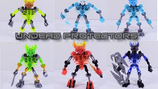 getlinkyoutube.com-Bionicle MOCs: Undead Protectors