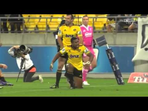 Julian Savea Beast Mode vs Crusaders