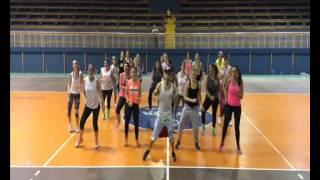 getlinkyoutube.com-Gente De Zona Ft. Pitbull - Yo Quiero - Zumba Fitness Choreography by Francisco Machado