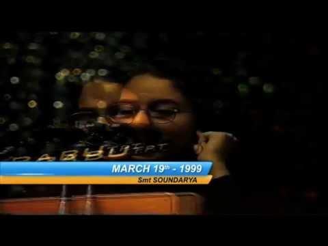 Actress Soundarya Speech at Sree Vidyanikethan (SVET) Annual Day Celebrations - 1998