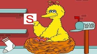 getlinkyoutube.com-Sesame Street Letters To Big Bird Kids Games Preschool Fun Activities