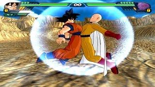 getlinkyoutube.com-Goku and Saitama (One Punch Man) Fusion | Saitaku | DBZ Tenkaichi 3 (MOD)