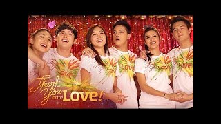 "ABS-CBN Christmas Station ID 2015 ""Thank You For The Love"" Recording Music Video"