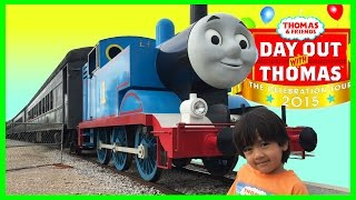 getlinkyoutube.com-Thomas and Friends DAY OUT WITH THOMAS 2015 Train ride for kids Sir Topham Hatt Ryan ToysReview