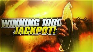 getlinkyoutube.com-WINNING 1000$ JACKPOT ( CSGOREAPER.COM )