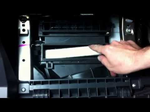 (SUZUKI SWIFT 3)(Замена салонного фильтра)(Cabin Air filter replacement