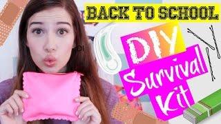 getlinkyoutube.com-BACK-TO-SCHOOL DIY SURVIVAL KIT! + GIVEAWAY!
