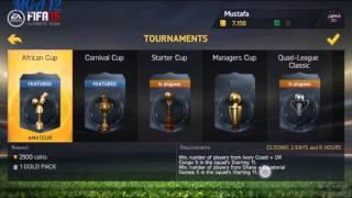 شرح كامل لقوائم FIFA 15 على الاندرويد 📱⚽👍🏆😆