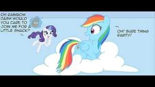 getlinkyoutube.com-Chimicherrychangas | MLP Comic Dub | (with 2Dcrazy as Rarity)