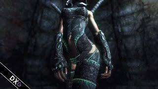 getlinkyoutube.com-Celes Nightingale Armor and Weapons (Skyrim MOD)