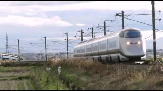 getlinkyoutube.com-山形新幹線 E3系つばさ 銀つばL62編成 村山-袖崎間