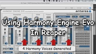 getlinkyoutube.com-Using Harmony Engine Evo In Reaper