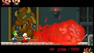 getlinkyoutube.com-Mario and Luigi vs. Bowser (Game)