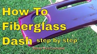 getlinkyoutube.com-How To Fiberglass Dash,Speaker Pods,Door Panels,Sub Box etc..Step By Step...Box Chevy Caprice
