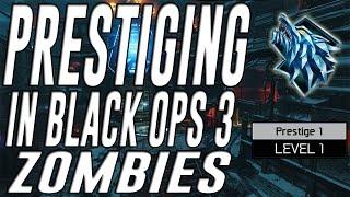 getlinkyoutube.com-Prestiging in Black Ops 3 Zombies (Prestige 1)