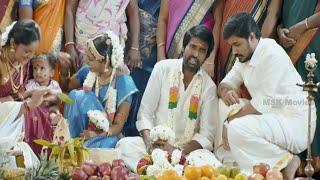 getlinkyoutube.com-Soori Marriage Comedy Scene - Nalanum Nandhiniyum Tamil  Movie Scene