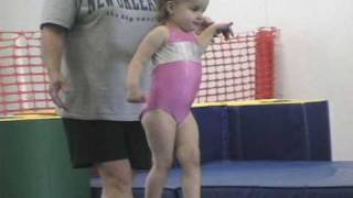 getlinkyoutube.com-2 and 3 year old gymnastics montage