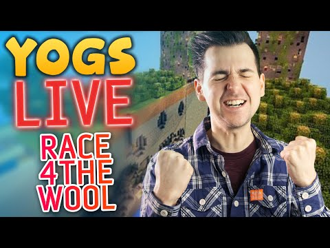 Race For The Wool #3: Yogscast Christmas Livestream 2013 - Lewis & Simon
