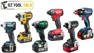 getlinkyoutube.com-18V Brushless Impact Driver Shootout - Makita, Milwaukee, Dewalt, Bosch, Hitachi, Metabo
