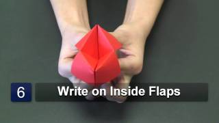 getlinkyoutube.com-How to Fold an Origami Paper Game