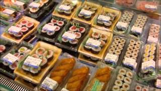 getlinkyoutube.com-Food Court in the basement of a typical Department store in Japan