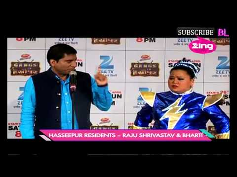 Launch of a new comedy show on Zee Tv