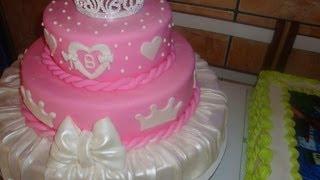 getlinkyoutube.com-Como montar bolo de andares -Miriam santos