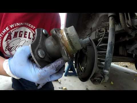 2004 Scion xB rear wheel hub replacement