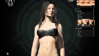 getlinkyoutube.com-EVE Online Incursion - Female Character Creation - PC