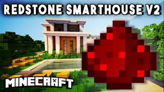 getlinkyoutube.com-REDSTONE SMART HOUSE V2 - Ultimate Redstone House! (w/ Tons Of Automated Redstone Features)
