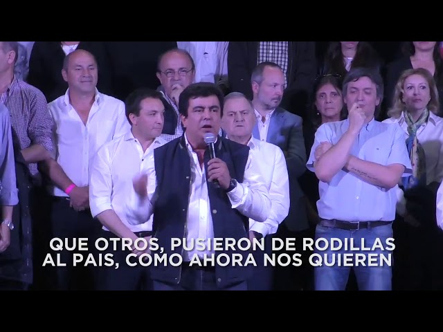 Homenaje a Néstor Kirchner en Florencio Varela