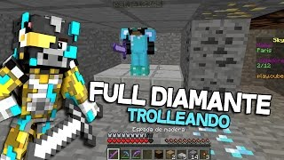 getlinkyoutube.com-FULL DIAMANTE SUPER CAMPER | TRAMPA MINECRAFT