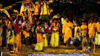 getlinkyoutube.com-Marche sur le feu au Temple Viramman Karli Commune Carron Ste-Suzanne