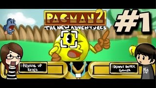 getlinkyoutube.com-Let's Play: Pac-Man 2 with PeanutButterGamer - Pac-Man is a JERK.