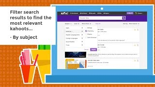 How to search for kahoots - tutorial video