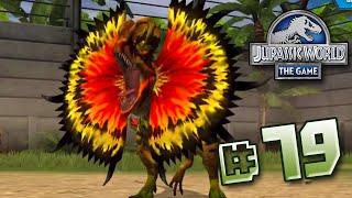 getlinkyoutube.com-MEGA Dilophosaurs! || Jurassic World - The Game - Ep 79 HD