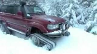 getlinkyoutube.com-Тест-драйв гусениц для Нивы и Toyota Land Cruiser