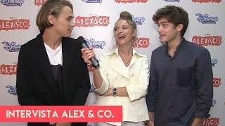 getlinkyoutube.com-Alex & Co. 3: intervista a Saul Nanni, Beatrice Vendramin e Federico Russo