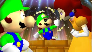 getlinkyoutube.com-Mario 64: Love for Luigi. (Valentines special)