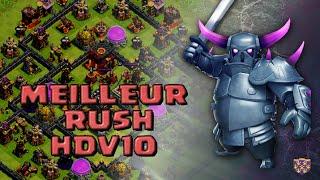 getlinkyoutube.com-Meilleur Village HDV10 pour RUSH Titan / Légende | Clash of Clans Fr