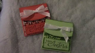 getlinkyoutube.com-Slide Up Gift Card Holder