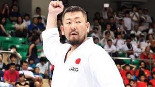 getlinkyoutube.com-まるでサムライのような空手師範の型 Karate Kata Gankaku (JKA)