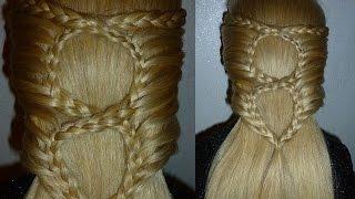Einfache Frisuren für mittel/lange Haare:Flechtfrisuren.Zopffrisur.Easy Braid Hairstyle.Peinados