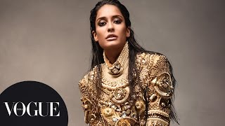 getlinkyoutube.com-Beautiful Lisa Haydon in Kamasutra Inspired Photoshoot | Behind-the-Scenes | VOGUE India