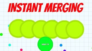 getlinkyoutube.com-Agar.io - INSTANT MERGING SERVER FUNNY MOMENTS