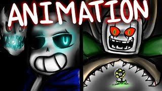 getlinkyoutube.com-Sans vs Flowey (Fullbody animation) - Undertale